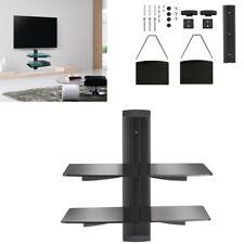 Floating DVD Shelves Shelf 2 Tier for SKY TV Box Player PS4 XBOX AV Wall Bracket