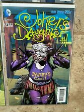 DC LENTICULAR COVER COMIC LOT, JOKER'S DAUGHTER, DEATHSTROKE, DEADSHOT, MORE, NM