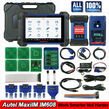 Autel IM608 Automotive Diagnostic Scanner Key Programming ECU Coding IMMO Reset