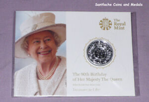2016 ROYAL MINT SILVER £20 COIN - Queen Elizabeth's 90th - MINT SEALED PACK