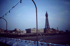 Kodak Kodachrome Slide Negative View Of The Blackpool Tower & Pleasure Beach