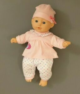 """11"""" Soft-bodied, Talking, Dressed Baby Doll"""