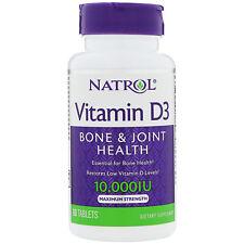 Natrol Vitamin D3 - 10000 Iu - 60 Tablets