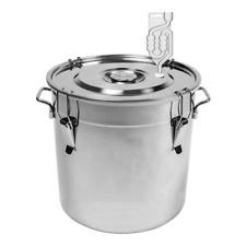 30L Edelstahl - Behälter Fermentation Gärbehälter Gäreimer Gärbottich Gärfass