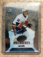 16-17 UD Upper Deck ICE Premieres Rookie RC #175 MATHEW BARZAL /499