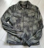 Tigha Herren Lederjacke  Jude Suede Vintage Grey Size M UVP: 279,90€