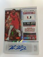 2018-19 Panini Contenders College Ticket Bruce Brown Jr RC Auto Cracked Ice /23