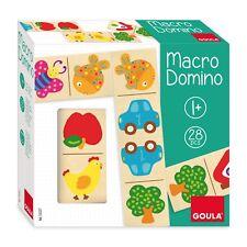 Goula - Macro Domino 28 Pezzi - Legno - 53327