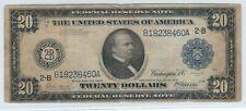 AMERIKANISCHE 20 DOLLAR 1914!!