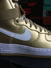 1993 Retro Nike Air Force 1 High QS Gold 9 White Black Lab Sf Af1