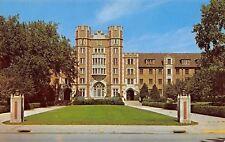 Lafayette IN Concrete Pillars of Spitzer Court~Battlements~Purdue Univ 1950s