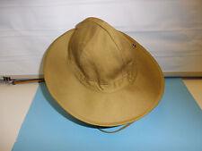 b3943-62 French IndoChina Khaki Bush Hat Vietnam size 62