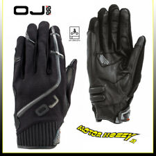 GUANTI STRADA ROAD GLOVES OJ WORLD THICK G188 COLORE NERO TAGLIA XL