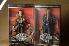 Toys R Us Harley Davidson Ken & Barbie Set - NIB