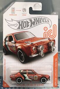 Hot Wheels '70 Ford Escort RS1600 ID Chase 2020 Die-cast