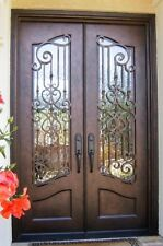 "Hand-Crafted 12 Gauge Wrought Iron Door by Monarch Custom Doors 72"" X 96"""