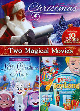CHRISTMAS: TWO MAGICAL MOVIES - A LITTLE CHRISTMAS MAGIC/MIRACLE IN TOYLAND