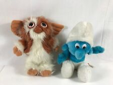 Vintage Smurf And Gizmo Late 70's/80's Used 9/10""