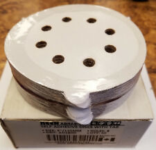 "KEEN Abrasives 50 Self-Adhesive 5"" Discs w/ Tab 8 Holes AO180D (#5A-F0029)"