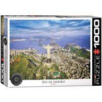 Eurographics Puzzle 1000 Piece Jigsaw - Rio de Janeiro-Brazil  EG60000945