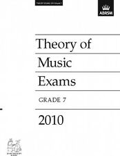 ABRSM Theory of Music Exams, Grade 7, 2010 - Theory Paper AB92929