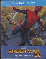 Spider-Man: Homecoming 2D + 3D STEELBOOK REGION FREE AUDIO: ENG. POLISH TURKISH
