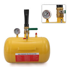 Air Tire Bead Seater Blaster Inflator Tire, 5 Gallon, Yellow