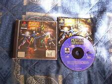 PS1 : PERFECT WEAPON - Completo, ITA ! Oltre 100 mosse ! Compatibile PS2 e PS3