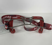 New Adidas Eqt Oqular Sports Goggles Red Lacrosse/Field Hockey (Bs4319)