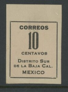 MEXICO, MINT, #404a, NG, NGAI, W/OUT SEAL, BAJA CALIFORNIA, CLEAN