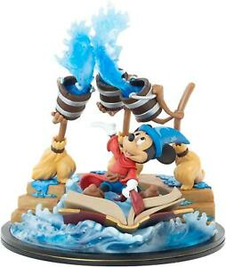 Disney Fantasia Sorcerer Mickey Mouse Q-Fig Max Magical Iconic Statue
