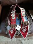 New Jersey Odd Fellow fraternity Badges and sash