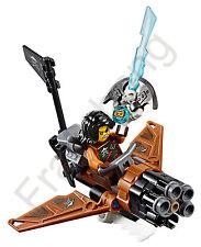 LEGO 70602 Ninjago Cyren con Pirata Flyer (separado de set 70602)