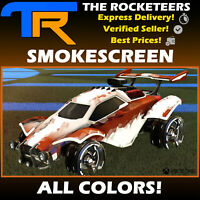 [XBOX] Rocket League Every Smokescreen Import Decal Lime, White, Grey etc