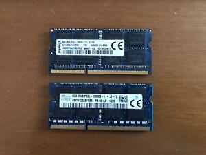Kit 16gb (2x8gb) Ram Ddr3 Sodimm 12800s PC3