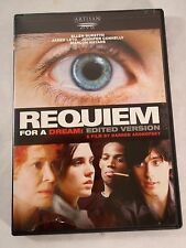 Requiem For a Dream: Edited Version 2001 Dvd Artisan Special Features Like New