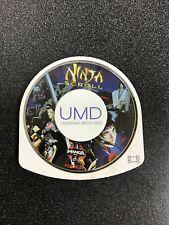 Ninja Scroll Sony PSP (UMD, 2005) Authentic Disc, Tested