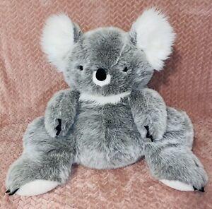 "Large 32"" Vintage Rare FAO Schwarz Plush Australian Koala Stuffed Animal"