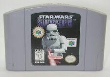Nintendo N64 Star Wars Shadows Of The Empire Game Cartridge. Works. R13586