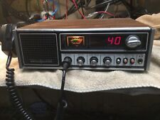 Ge Cb base 40 channel, keys 4.5 watts, swings to 14 watts.