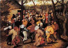 B74899 Pieter brueghel de jonge noce villageoise painting     art