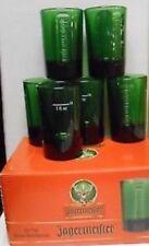 Lot 6 verres Jagermeister - shots shooters vert, green color (nouveau modèle).