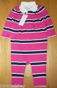 Coverall Ralph Lauren baby girl babygro all-in-one romper 0-3-6 m BNWT designer