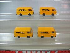 H311-0,5# 4x WIKING H0 Volkswagen VW-LT 28, 300, IPEC, NEUW