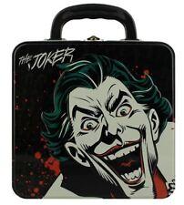 Oficial DC Comics Batman El Guasón De Metal Caja de Almuerzo Bolso Caso De Estaño