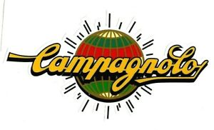 """CAMPAGNOLO"" DECAL / STICKER BICYCLE BIKE CYCLE RETRO VINTAGE"