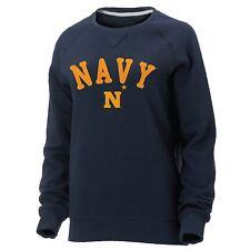 NCAA NAVY Ouray Women's Hotshot Crew Long Sweatshirt Large L - Navy