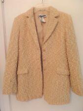 Jil Sander Ladies Italy Size 42 Beige Wool Blend Coat Jacket – Nwots