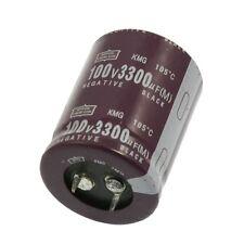 Plastic Housing 3300uF 100V 105 Celsius Degree Aluminum Electrolytic Capacitor