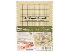 BEADSMITH MACRAME BOARD  7.5 x 10 inches - 6 X 9 Grid